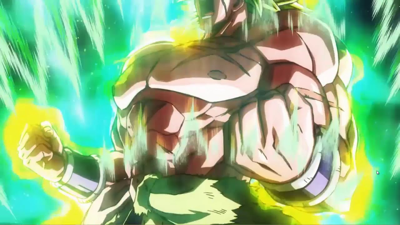 Broly Rage Dragon Ball Super Wallpaper Engine Live Wallpaper