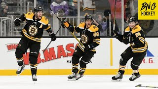 Boston Bruins Top Goals 2019-20 Regular Season