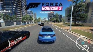 BMW M4 300 km/h+ FORZA HORIZON 3 Ep2
