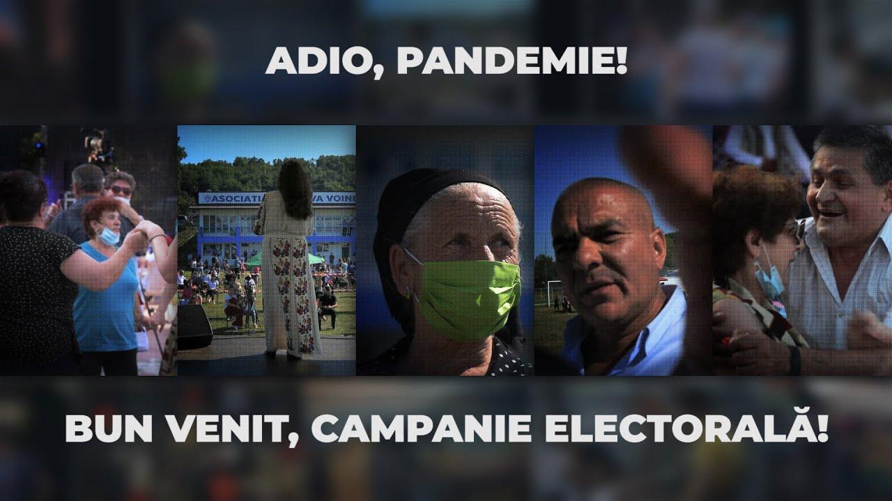 Adio, pandemie! Bun venit, campanie electorală!
