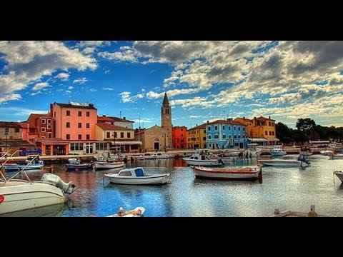 Fazana Town Croatia Youtube