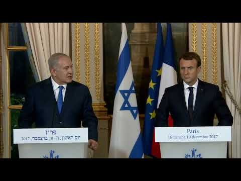 Statements by PM Netanyahu and French President Macron