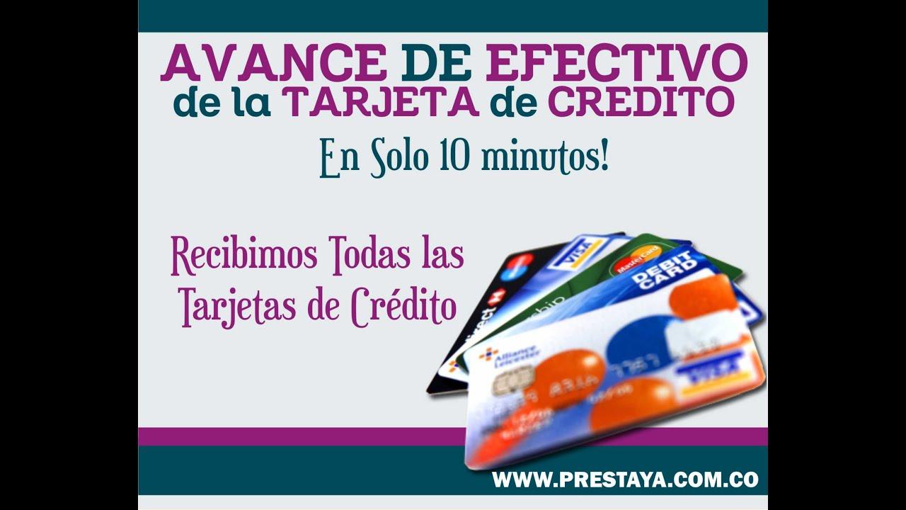 Avance de Tarjeta de Credito en Medellin - Cambio Cupo de