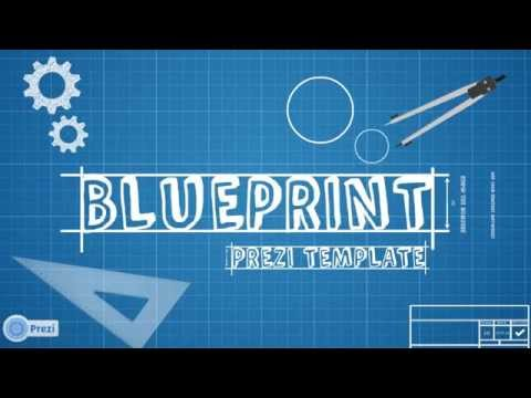 Blueprint prezi template youtube malvernweather Choice Image