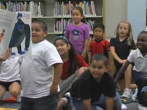 """WPTV's Chandra Bill Reads Eric Carle's """"From Head to Toe"""" for Families Reading Together 2009 thumbnail"""