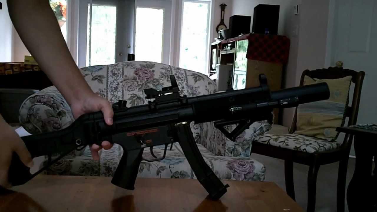 Mp5 Sd Handguard Mod Tri Rails G A R S Mod Youtube