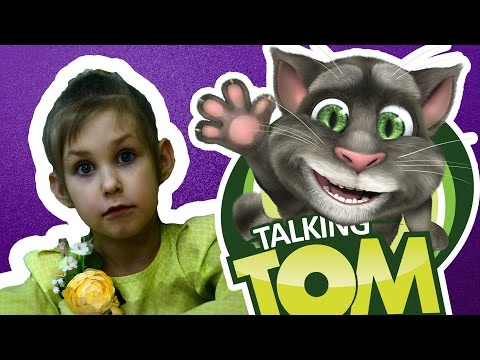 Распковка яиц Говорящии Кот Том Talking Tom Surprise Eggs Toys