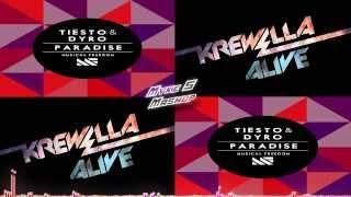 Repeat youtube video Tiesto & Dyro feat Krewella - Alive Paradise (Myke S Mashup) | Free Download in Description.
