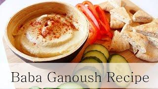 Baba Ghanoush (oil-free, Vegan)