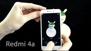 Xiaomi Redmi 4a - новый бюджетник от Xiaomi, распаковка и первое впечатление первый на русском
