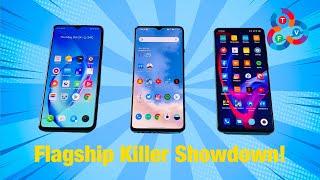Realme X2 Pro vs OnePlus 7T vs Mi 9T Pro - Flagship Killer Showdown! (Part 1)