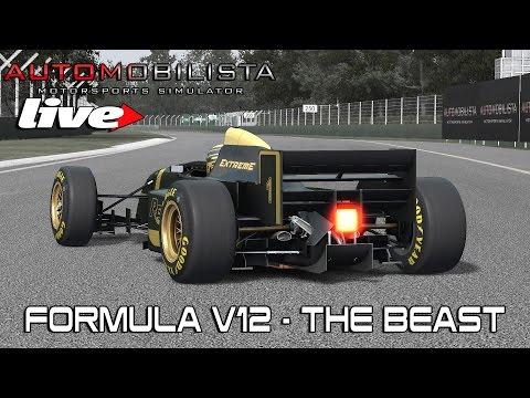 AUTOMOBILISTA LIVE - FORMULA V12 - THE BEAST