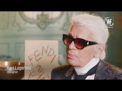 Fendi history brand In memory Karl Lagerfeld