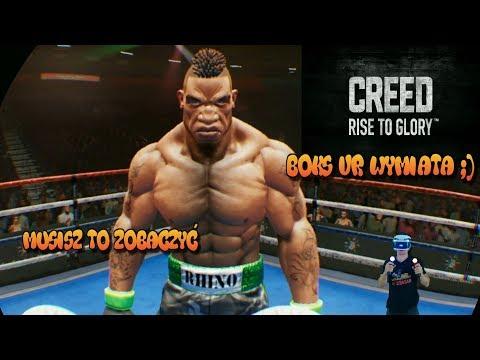 Musisz To Zobaczyć Boks Z Rockym Balboa Creed Rise To Glory Ps4 Pro VR Wazzup :)
