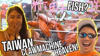 TAIWAN IS CLAW MACHINE HEAVEN!