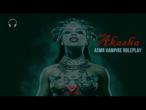 Akasha Vampire Helps you sleep [ASMR] ★ Personal Attention Roleplay ★ [Close Whispers]