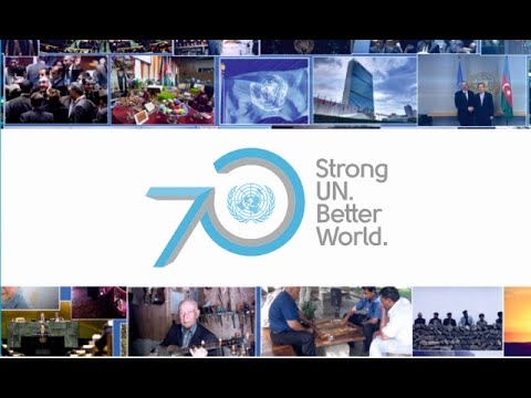 "United Nations in Azerbaijan: ""Strong UN. Better World."""