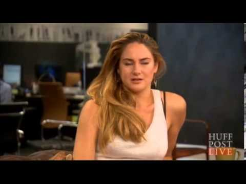 Shailene Woodley & Miles Teller talk 'Divergent' with Huffington Post Live
