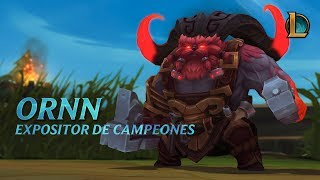 Expositor de campeones:: Ornn | Gameplay - League of Legends
