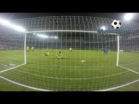 El Salvador 3-0 Barbados. Gol de Gerson Mayén.