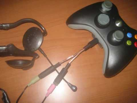 pc headset to xbox 360 adapter