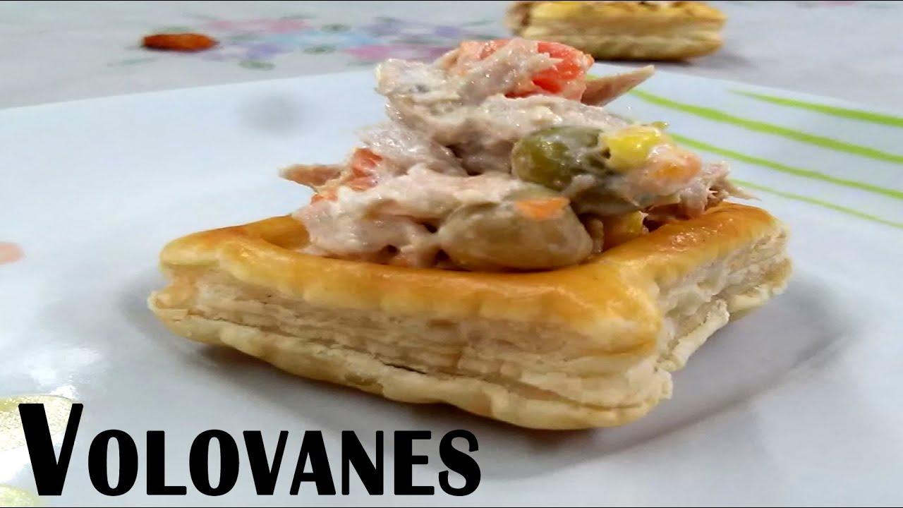 Volovanes como hacer volovanes con pasta hojaldre youtube - Como hacer espaguetis al pesto ...
