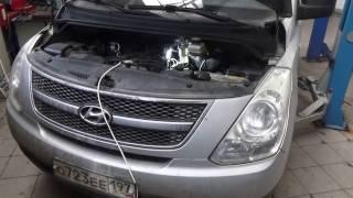 Замена топливного фильтра Hyundai Grand Starex