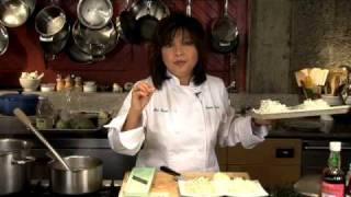 Sodexo Presents Chef Mai Pham - Preparing Pho or Pho Ga - a wonderful rice noodle soup