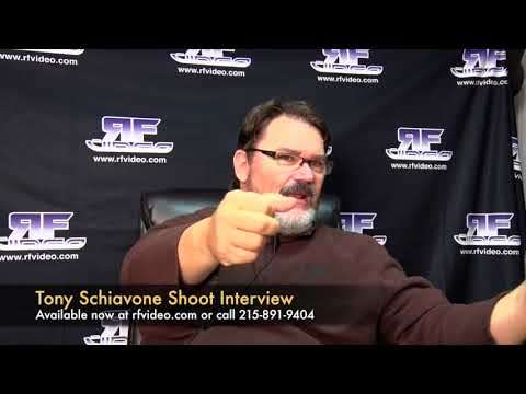 Tony Schiavone Shoot Interview Preview