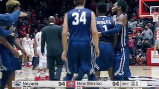The Biggest Comeback In Basketball History-Nevada 105 New Mexico 104