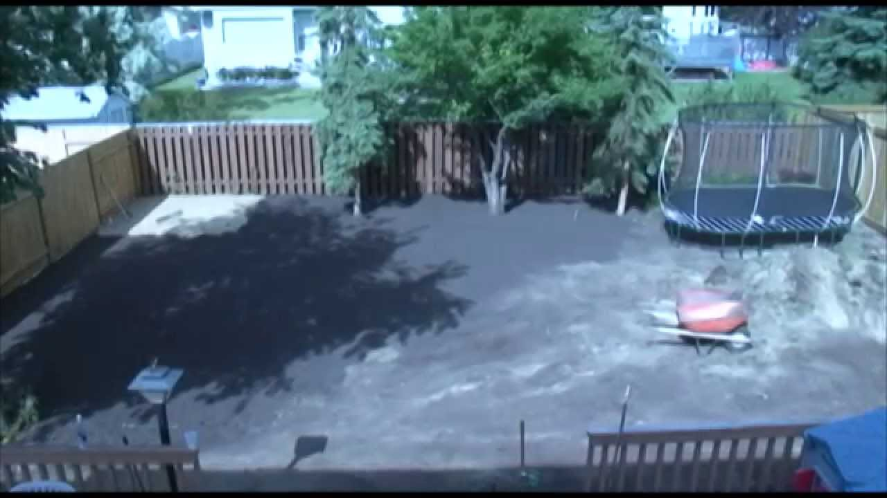 backyard makeover time lapse youtube