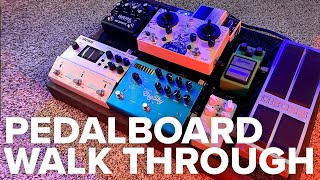 Worship Pedalboard Walk Through