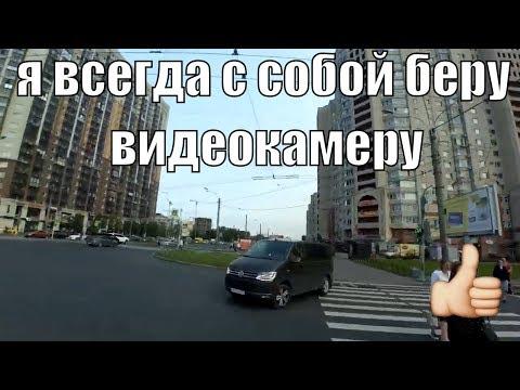 Подборка ездоков по тротуару «Автохамы» №1