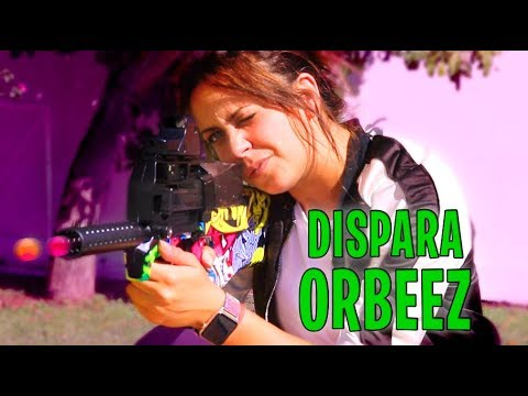 NUEVA ARMA P90 LANZA ORBEEZ *hace daño*
