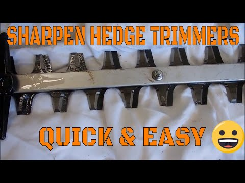 How to sharpen hedge clipper blades net fairy lights indoor
