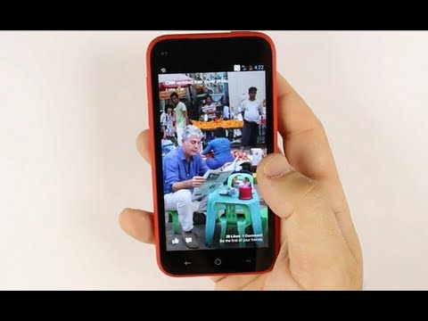 HTC First | Facebook Phone Hands On Review