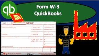 QuickBooks Online 2019-Form W-3 QuickBooks
