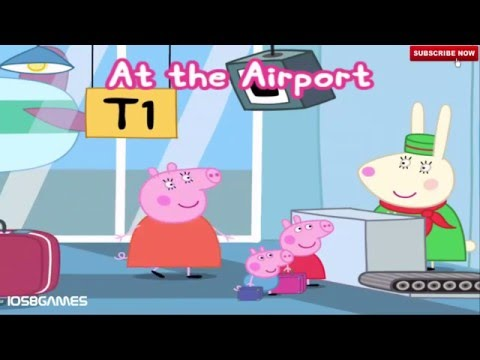 Peppa Pig Holiday iOS iPad Game - Learning Interactive Games for Children