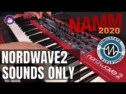 NAMM 2020 - Nord Wave Sounds Only