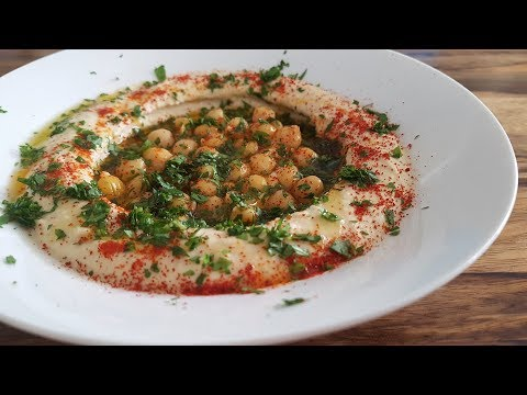 How To Make Homemade Hummus | Hummus Recipe