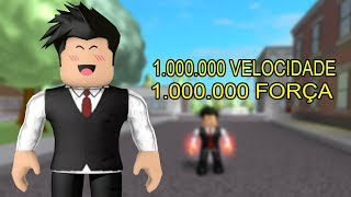 HOW TO MOVE FROM LEVEL EASY TO SUPER POWER TRAINING SIMULATOR-ROBLOX