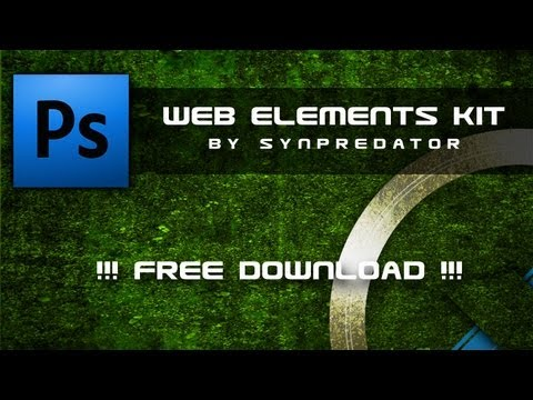 [Free Download] - Free Web Elements PSD Download