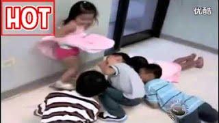 Tổng hợp những clip hài hước về trẻ em
