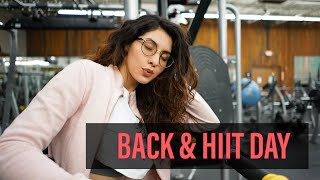 Swing BACK Into It l Back and HIIT Day l Female Fitness