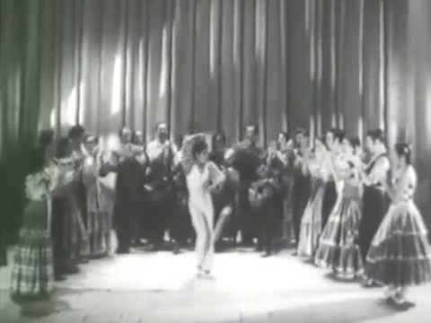 CARMEN AMAYA  en 1952 à PARIS