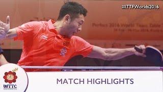 2016 World Championships Highlights: Xu Xin vs Jun Mizutani