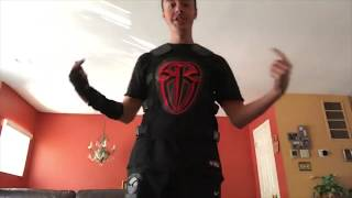 Roman Reigns Replica Vest and Glove Unboxing. (GangGreen David Unboxing)