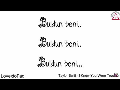 Taylor Swift - Trouble (Efe Burak Türkçe Cover)
