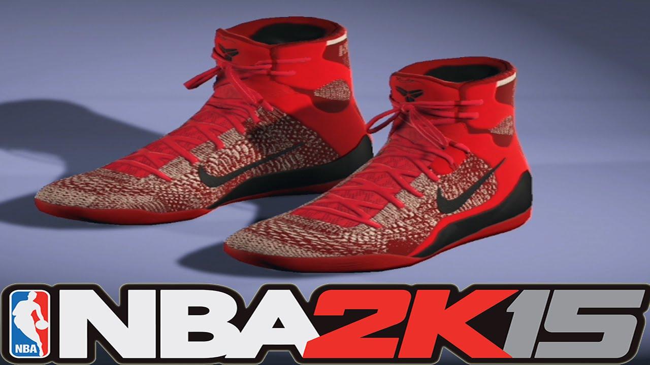 05e14582cf2c ... greece nba 2k15 shoe creator nike kobe 9 elite knit stocking nba2k15  29c9c bac5e