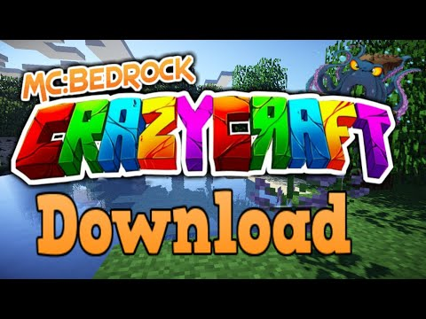 Minecraft Bedrock Edition Crazycraft ModPack Download (UPDATE)